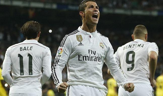 Musim Ini Ronaldo Cetak Gol ke-30 untuk Real Madrid
