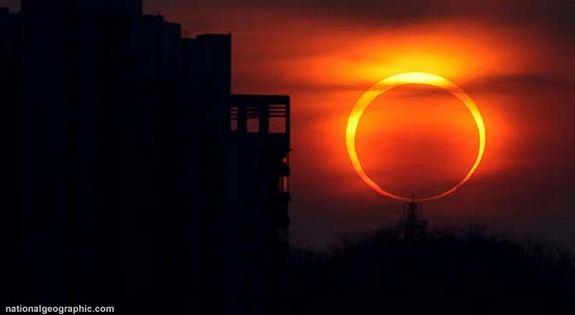 Gerhana Matahari Total Pada Bulan Maret 2015
