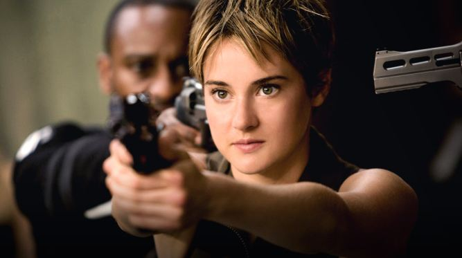 Shalene Woodley di Film The Divergent Series: Insurgent ( 2015 )