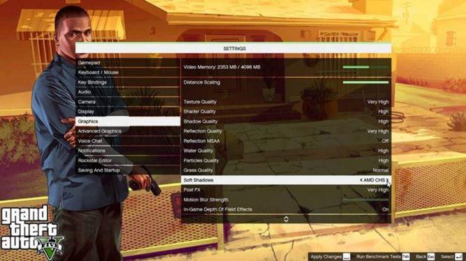 AMD Rilis Driver Terbaru untuk Mainkan GTA 5