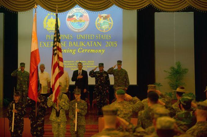AS dan Filipina Memulai Latihan Militer Gabungan