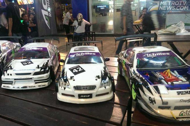 Achilles Bangkit di Ajang RC Drift Series