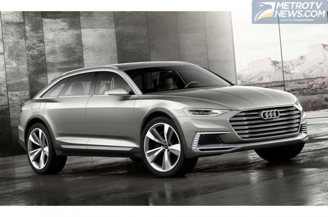 Audi Boyong Prologue Avant Concept di SAS 2015