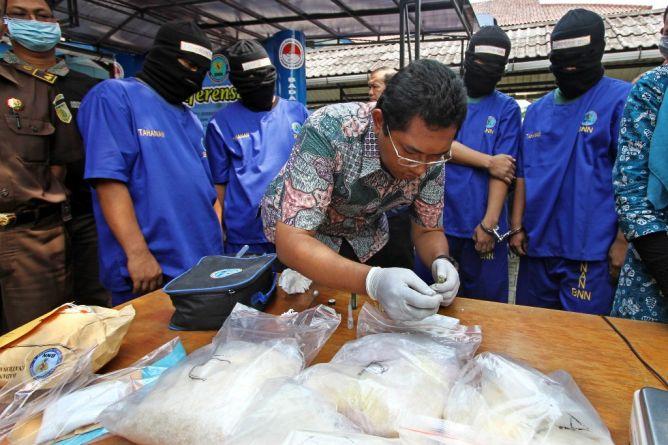 BNN Gagalkan Penyelundupan Narkoba Sindikat Malaysia-Aceh-Medan