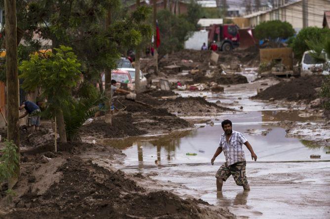 Banjir Bandang di Chile Tewaskan 18 Orang