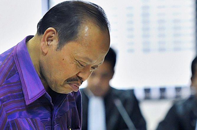 Didakwa Terima Rp50 Juta dari Jero Wacik, Sutan Tuding KPK Ngarang