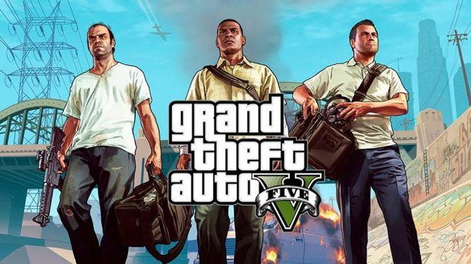 GTA V Langsung Nyodok ke Posisi 3 di Steam
