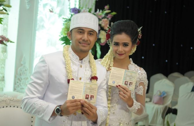 Photo of Hengky Kurniawan Nikahi Sonya Fatmala