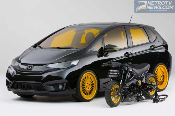 Honda Fit 2015, Tampil Agresif Tanpa Sentuh Mesin