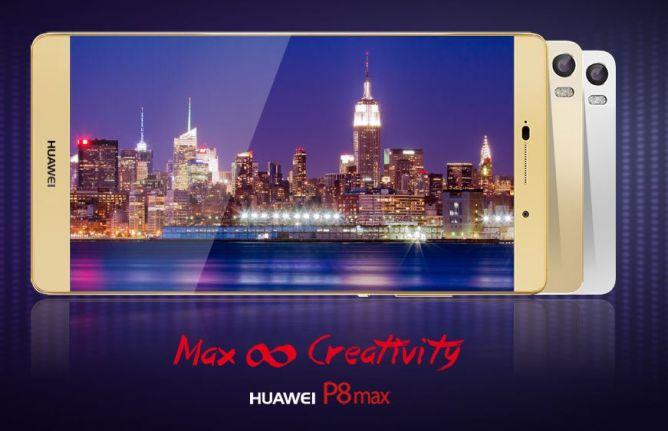 Huawei P8max, Phablet Super Terbaru dari Huawei