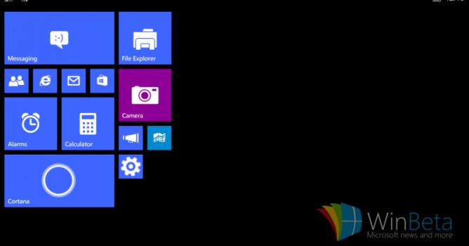 Inilah Bocoran Tampilan Windows 10 untuk Tablet 8-inci ke Bawah
