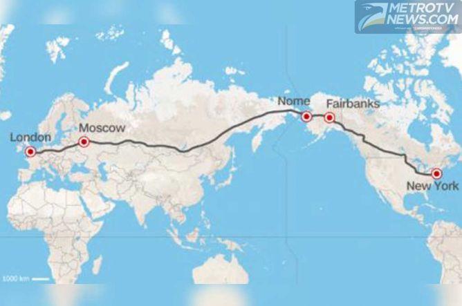 Jalan Tol Super akan Hubungkan London ke New York
