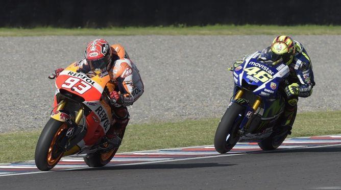 Kata Rossi, Marquez Terlalu Memaksakan Diri