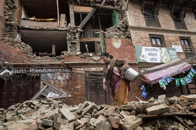 Korban Tewas Gempa Nepal Bertambah Jadi 5.057 Orang
