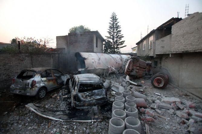 Ledakan Truk Tangki Minyak Tewaskan 14 Orang