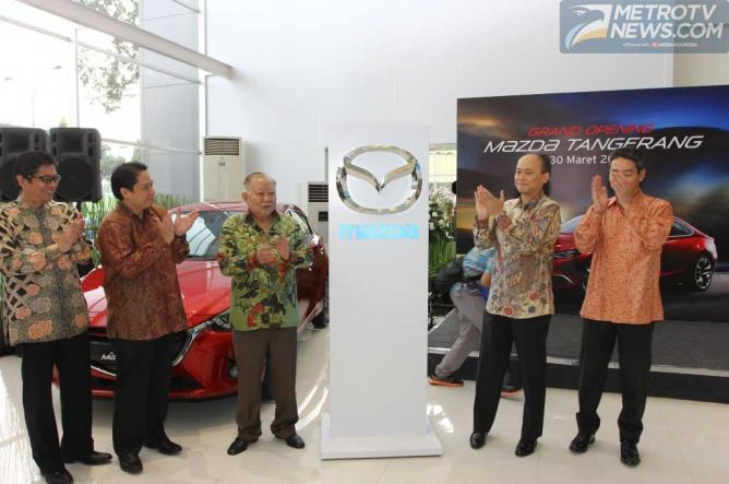 Mazda Bangun Jaringan ke-45 di Kota Tangerang