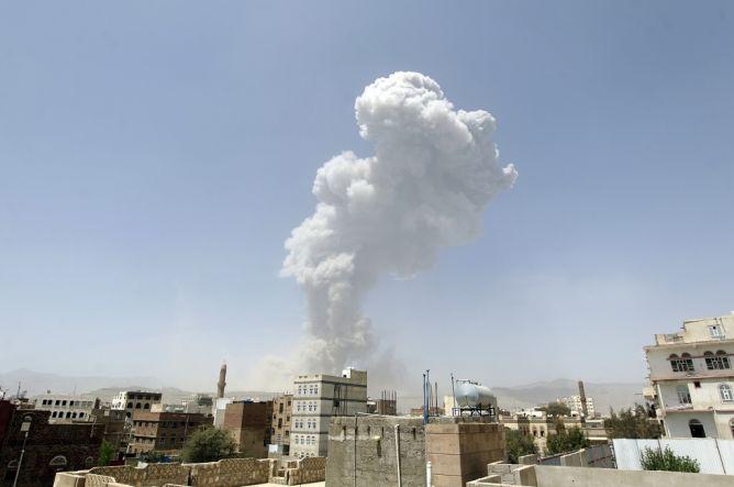 Meleset dari Sasaran, Serangan Koalisi di Yaman Kenai Permukiman