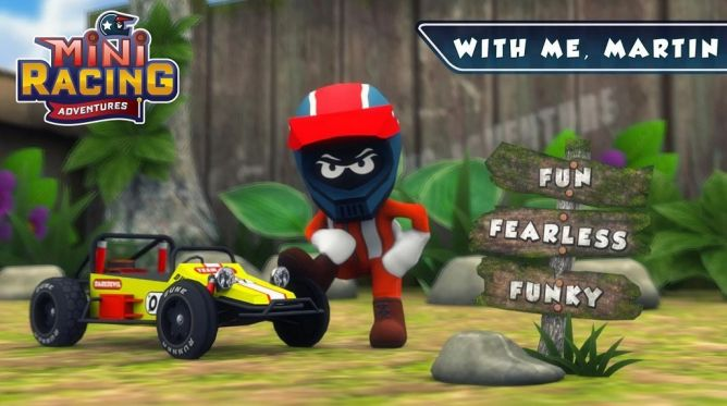 Minimo Studio Rilis Mini Racing Adventures di Android