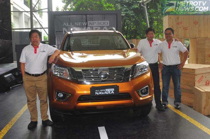 Nissan Buka Selubung All New NP300 Navara, Harga Mulai Rp380 Juta