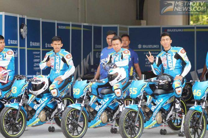 Pembalap Suzuki Indonesia Yakin Tuai Kemenangan di Kejuaraan Asia