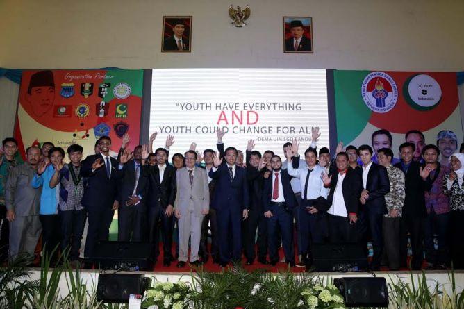 Pemuda Asia Afrika Didorong Menciptakan Perubahan Global
