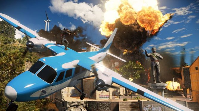 Penampakan Gameplay Just Cause 3