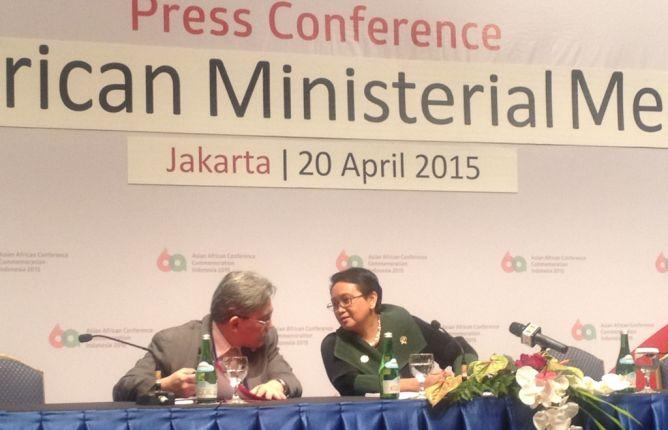 Pertemuan Menteri KAA, Hasilkan Kerangka Kerja Sama Strategis