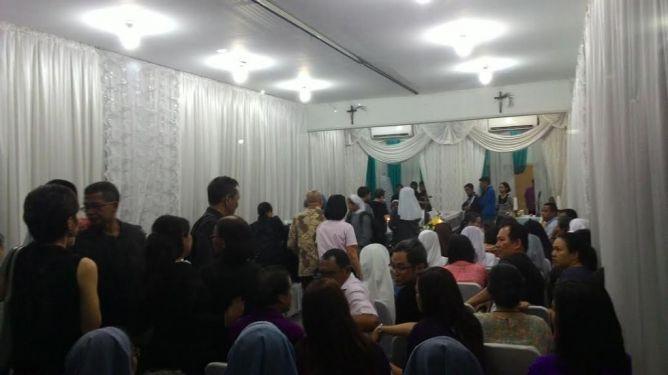 Perwakilan Kedubes Timor Leste Hadiri Misa Arwah Rodrigo