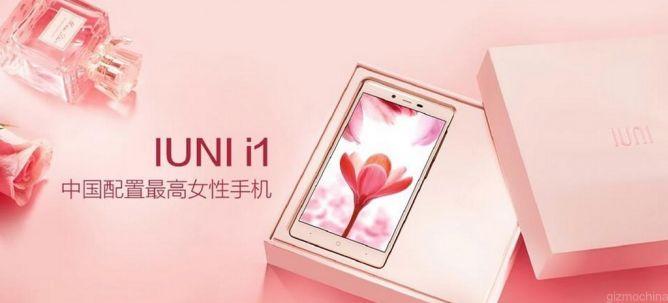 Ponsel Cantik untuk Wanita Cantik, IUNI I1