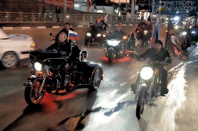 Presiden Rusia akan Touring ke Jerman Bersama Geng Motor