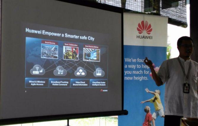 Sambut KAA, Huawei Tekankan Konsep Smart City