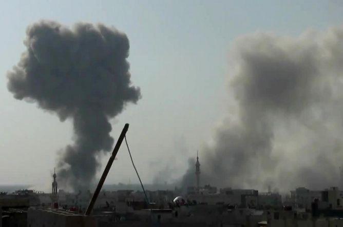 Serangan Udara Pemerintah Suriah Tewaskan 24 Orang