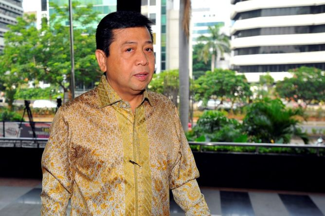 Setya Novanto Klaim Rotasi Fraksi Golkar Sesuai Aturan