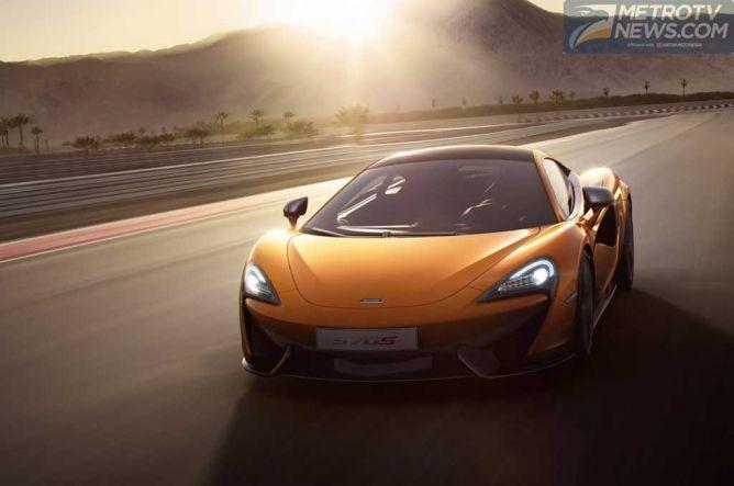 Sportscar Entry Level Inggris McLaren 570S Meluncur di NYAS 2015