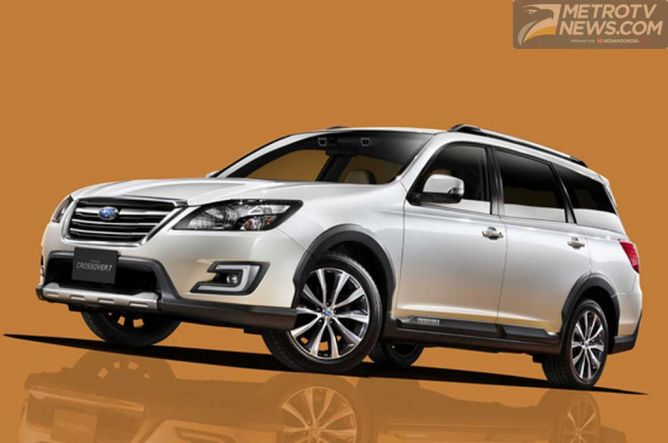 Photo of Subaru Gunakan Outback Sebagai Basis Crossover7