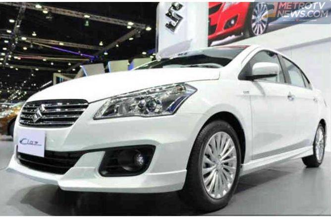 Suzuki Ciaz Aero, Lebih Sporty dan Tetap Ramah Lingkungan