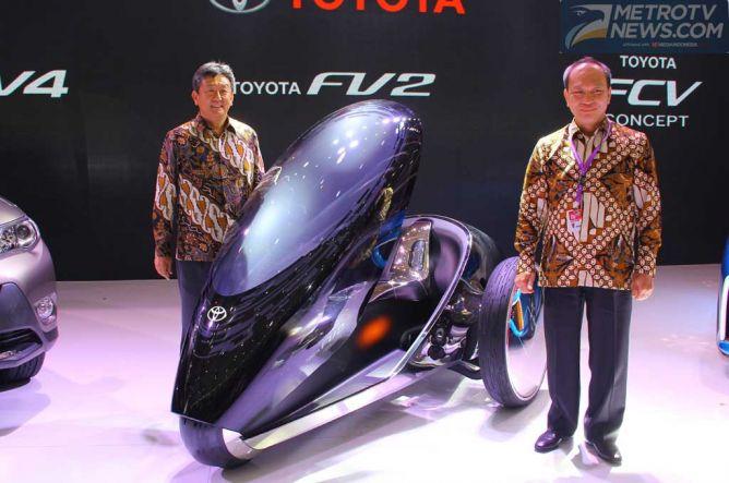 Toyota dan Distributornya Tegaskan Bakal Total di GIIAS 2015
