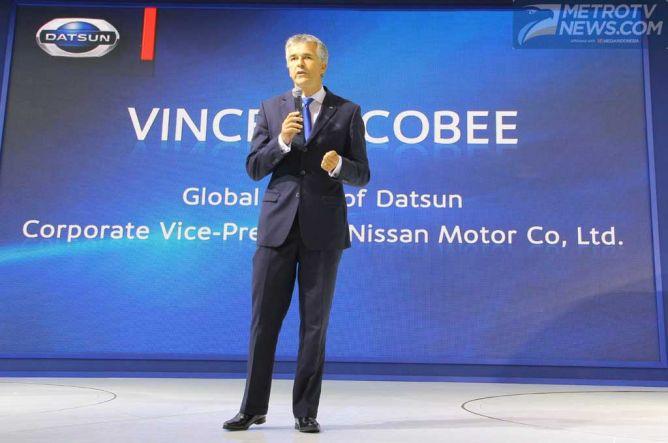 Vincent Cobee Siap Membesarkan Kembali Nama Datsun