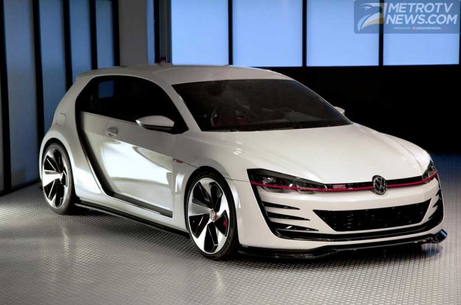 Volkswagen Kembangkan Golf GTI Concept Car