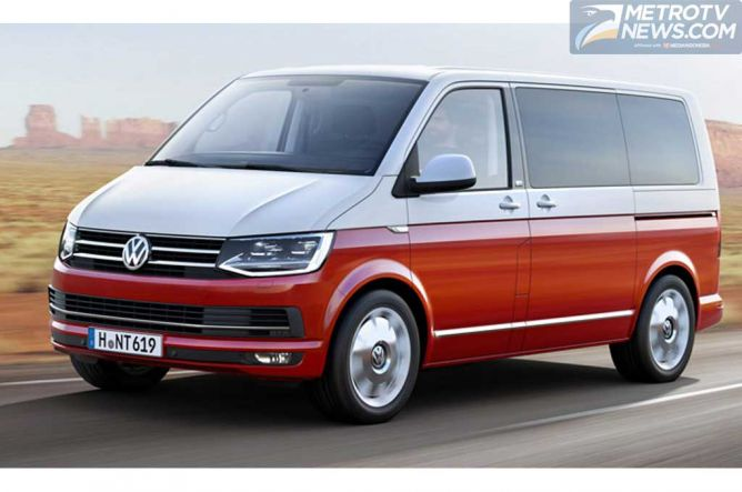 Volkswagen Transporter Generasi 6, Resmi Mengaspal