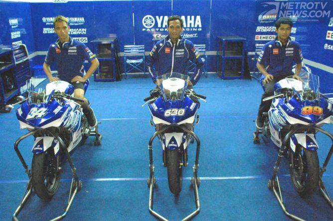 Yamaha Indonesia Siap Kibarkan Merah Putih di ARRC 2015