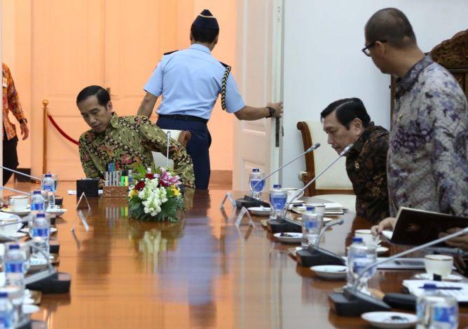 Istana Kompak Bungkam Soal Reshuffle Kabinet