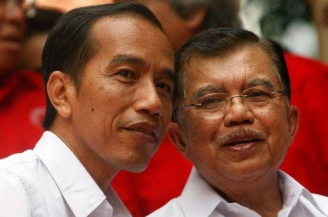JK Isyaratkan Reshuffle, Jokowi Bungkam