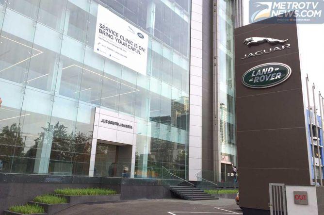 Jaguar Land Rover Buka Showroom Terbesar Asia Tenggara di Jakarta