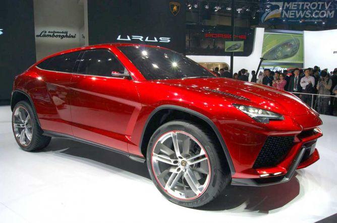 Lamborghini Tertarik Bersaing di Segmen Mobil SUV