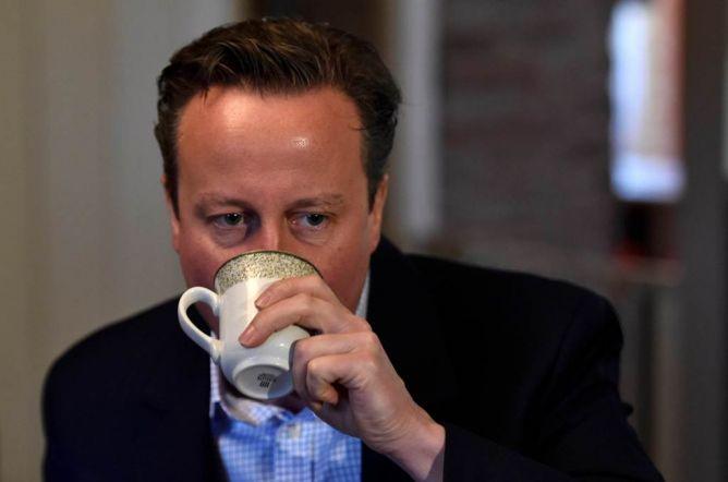 PM Inggris David Cameron Santai Hadapi Pemilu