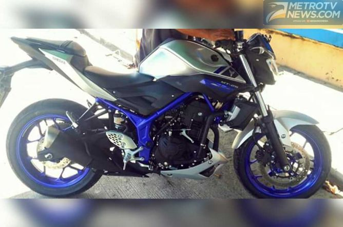 Penampakan Yamaha MT-25 Bocor, Tak Kalah Gagah Dengan MT-09