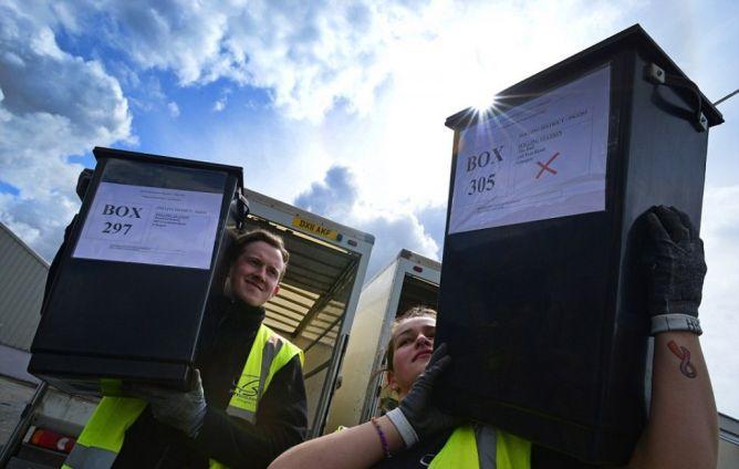Perkiraan Raihan Kursi di Pemilu Inggris