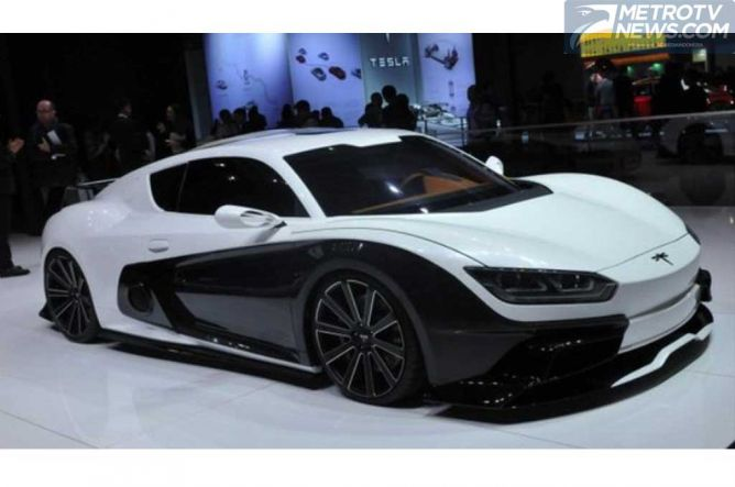Qiantu K50 Event, Supercar Pertama Tiongkok