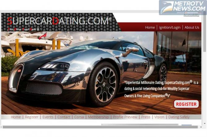 Supercardating, Website Khusus Penunggang Supercar Jomblo